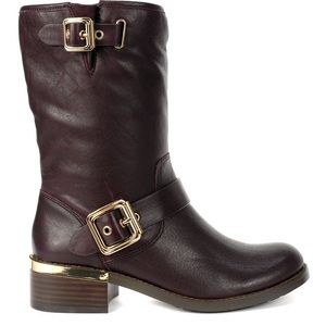 Vince Camuto womens Windy boots, Dark Wood, 5.5 US